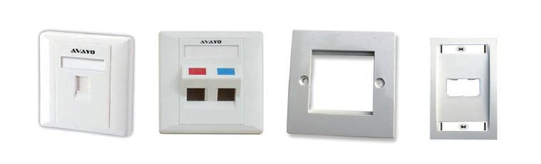 Face Plates / Keystone Wall plates